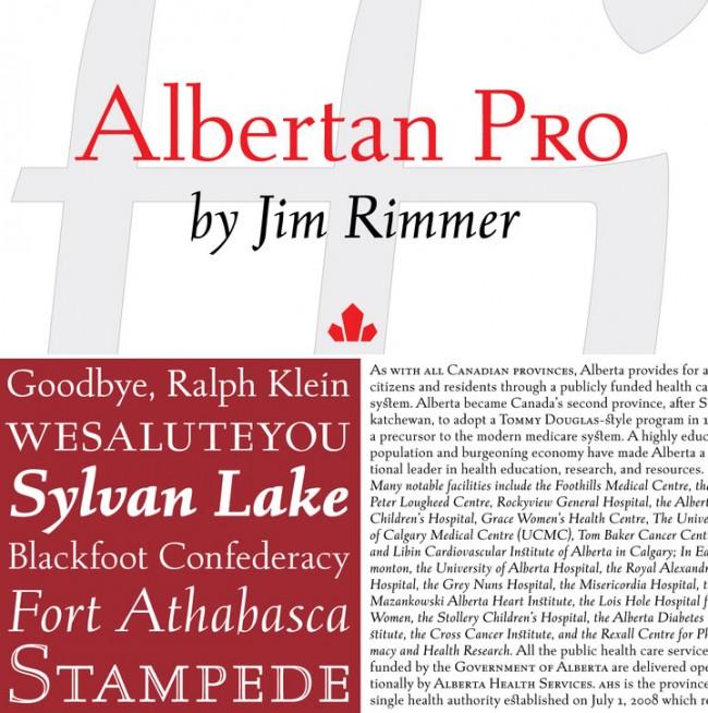 Von Beginn an haben Canada Type sich hat mit dem historischen Schriftschaffen in Kanada, etwa von Jim Rimmer oder Kevin Allan King, in Form digitalisierter Fonts auseinandergesetzt. Der Bestand wird sukzessive durch zeitgeschichtliche Reminiszenzen an Amerika und Europa, kundenspezifische Auftragsarbeiten und neue Entwürfe von »Gastdesignern« erweitert.