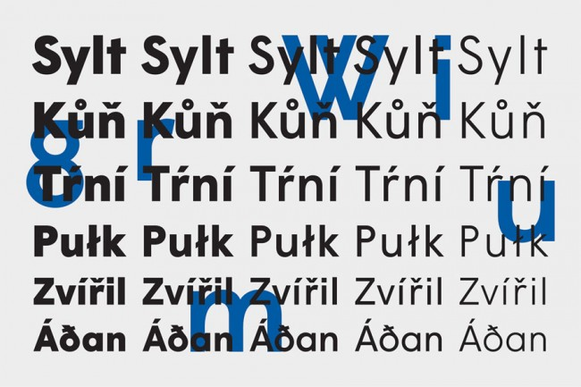 Anouk Pennel und Raphaël Daudelin vom Montréaler Studio FEED (http://www.studiofeed.ca/) sind besonders stolz auf ihren strengen Font Wigrum, den sie mit Jean-Baptiste Levée kreierten und den die französische Foundry B·A·T vertreibt  (http://www.batfoundry.com/). Für ihre typografisch angelegten Erscheinungsbilder lassen sie gern mal einen eigenen Font entwickeln – wie im Fall der Theaterkompanie Infrarouge.