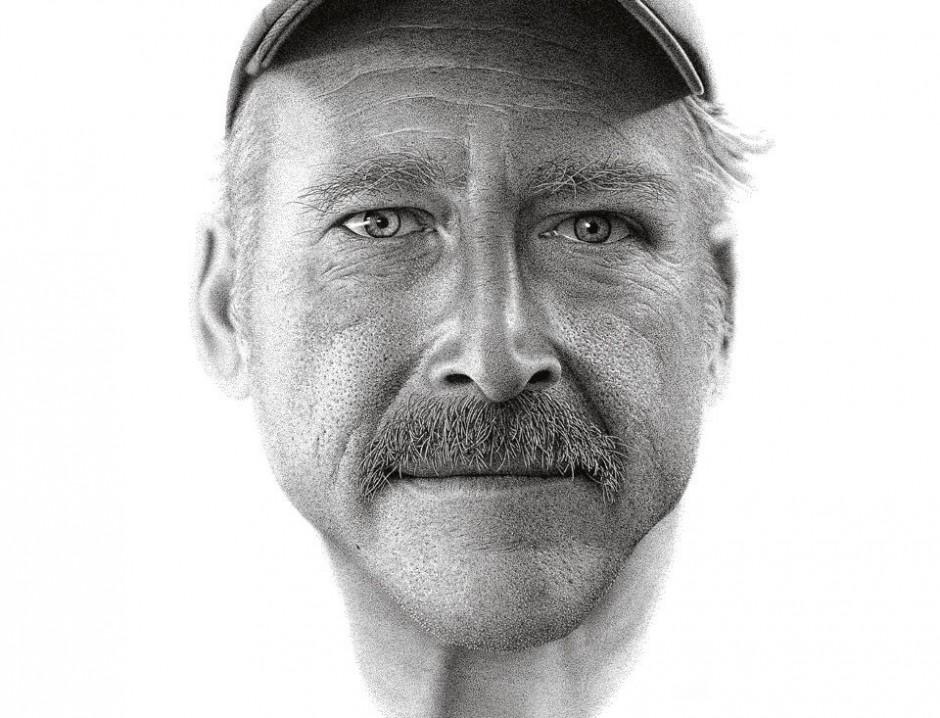 Miguel Endara, 2012, »Benjaman Kyle«, personal work; paper, pen and ink