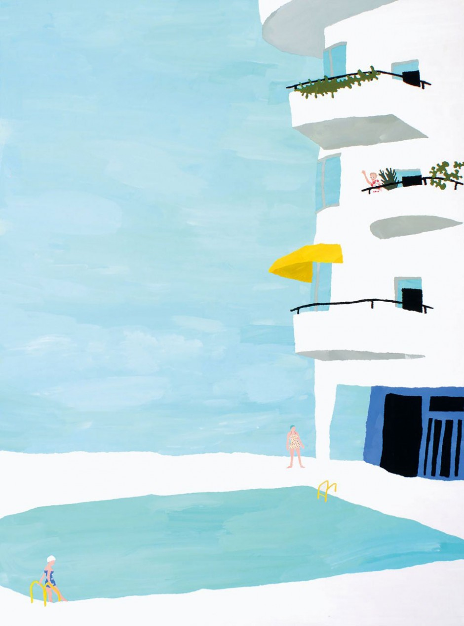 Natsuki Camino, 2010, »Paper Trip 2«, personal work; chigiri-e collage