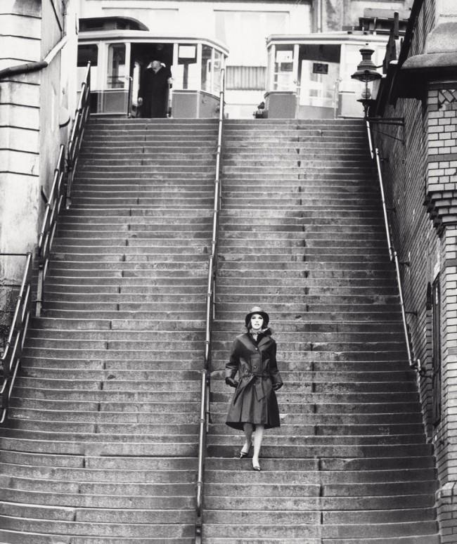F.C. Gundlach, Modereportage für Nino, Hamburger Hafen 1958
