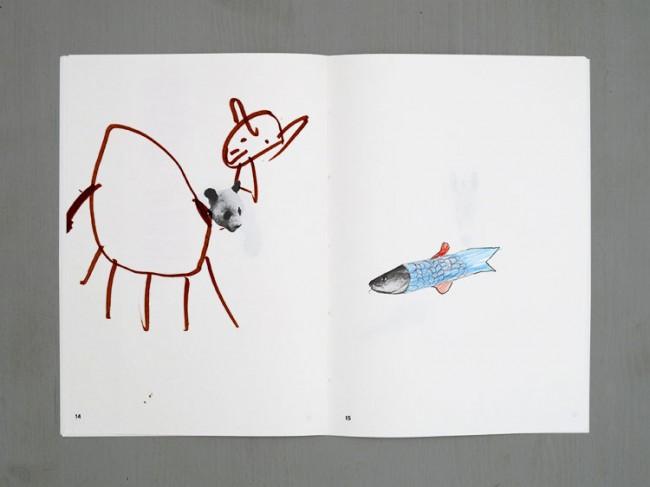 Animal Dawing Notebook
