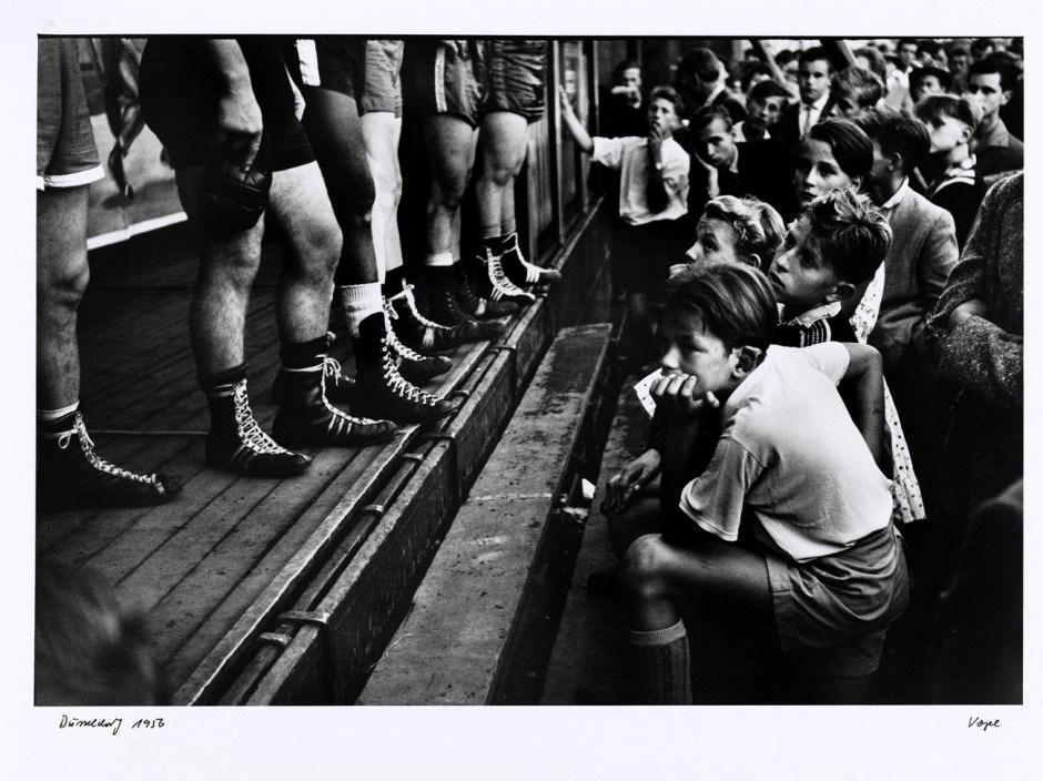 Walter Vogel: Boxerbeine, Düsseldorf 1956