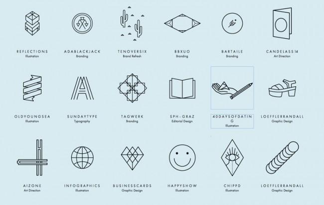 Icons für jedes Projekt von Verena Michelitsch