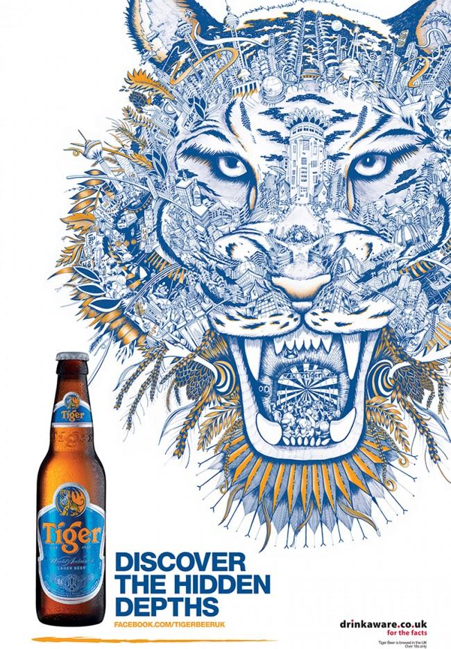 Tiger Beer UK – The Hidden Depths of Tiger Beer