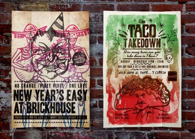 Brickhouse Poster