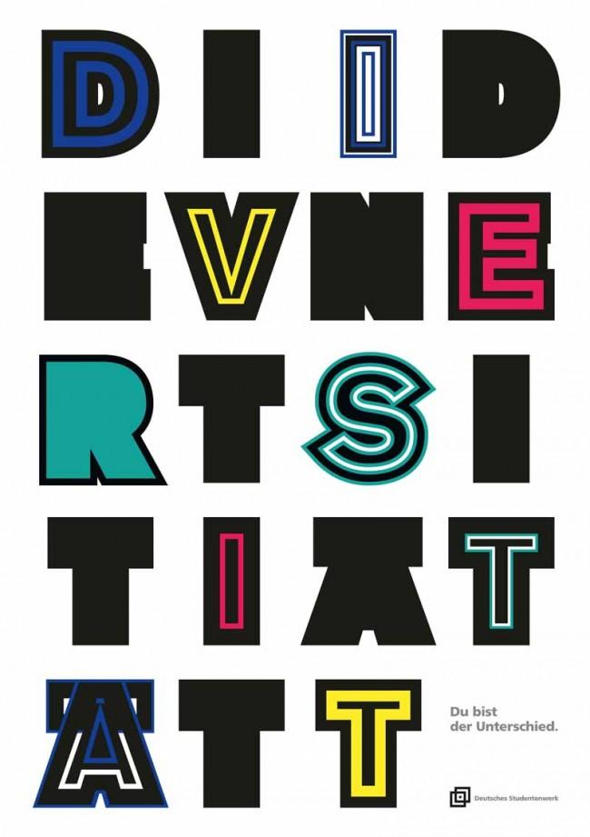 2. Preis: »Diversität Identität« von Thomas Stralek, Fachhochschule Düsseldorf