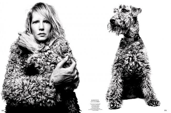 Fotograf Platon (http://www.ba-reps.com/photographers/platon) für Garage Magazine No. 7, Fall/Winter 2014