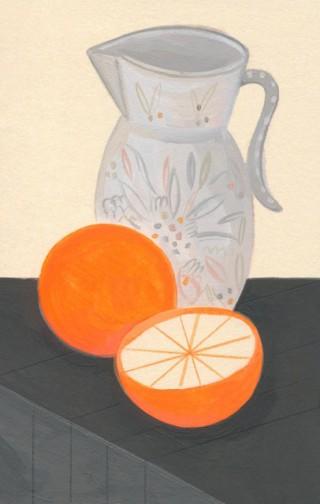 Orangen Stillleben © Larissa Bertonasco