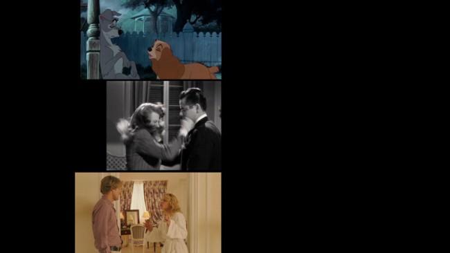Stills aus »Ein Abenteuer«, Found-Footage-Videoarbeit über die Liebe, basierend auf Texten von Roland Barthes