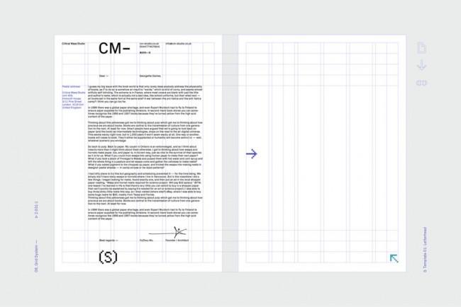 Critical Mass Studio | Identity & Stationery
