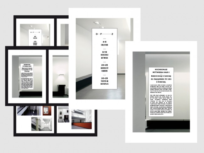 Broschüre DFZ Architekten