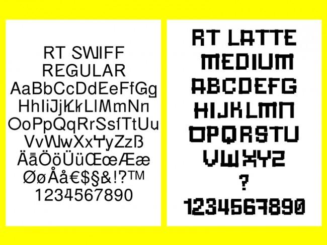 RT Swiff und RT Latte