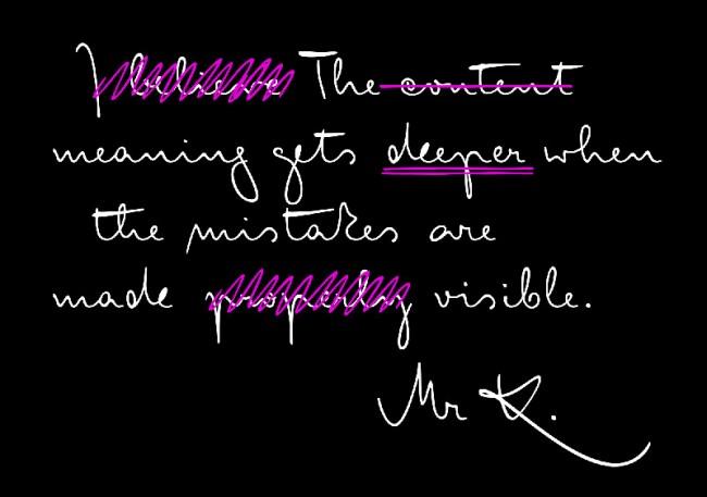»FF Mister K« entworfen nach Manuskripten von Franz Kafka; kontinuierlich wachsende Schriftfamilie; Auszeichnungen: Modern Cyrillic Award, ISTD Premier Award, TDC Certificate of Excellence in Typeface Design