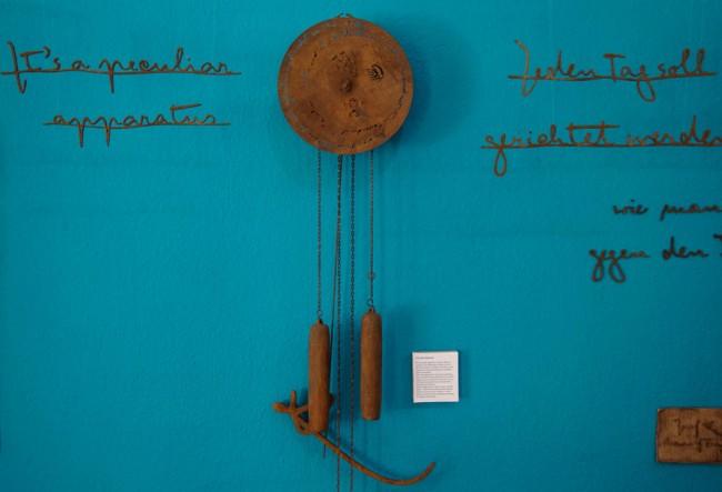 Ausstellungsobjekt »Mister K Clock« / Ausstellung bei MotaItalic, Berlin