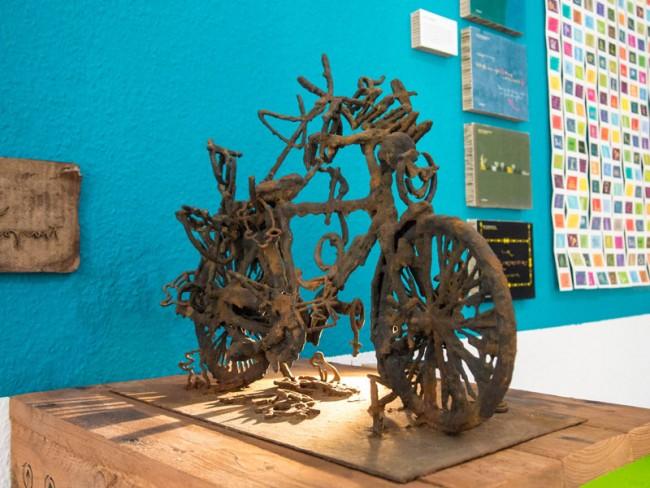 Ausstellungsobjekt: »Mister K – Means of Transport« / Ausstellung in Lahti, Finnland