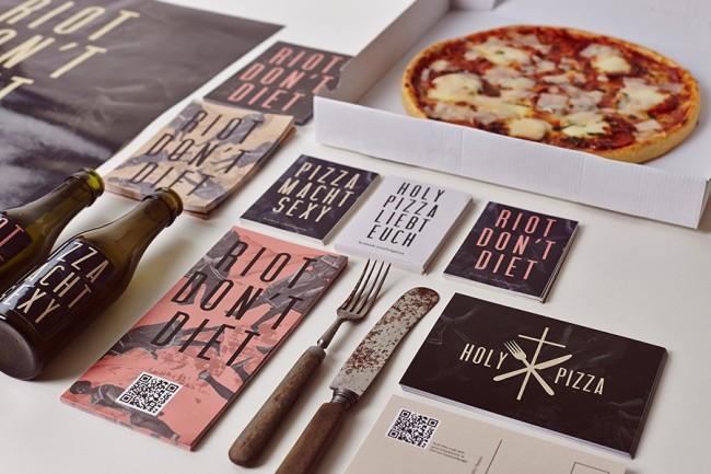 Corporatedesign für die Pizzeria HolyPizza