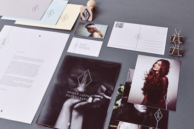 Corporatedesign für den Hamburger Fotografen Heiner Lüpke