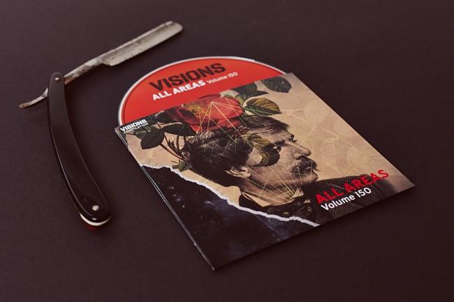 CD Coverdesign für die Musikzeitschrift Visions