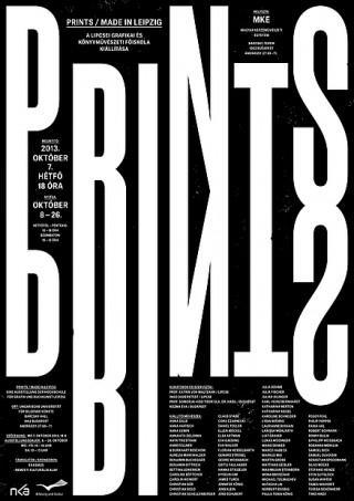 Prints - Made in Leipzig Ausstellungsplakat