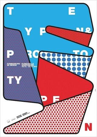 Plakat/Plakatserie Typen & Prototypen  Gestalter burkhardthauke - Büro für Gestaltung: Ralph Burkhardt, Daniel Hauke l D