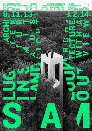 Plakat/Plakatserie S AM Luginsland  Gestalter Claudiabasel Grafik & Interaktion: Jiri Oplatek l CH