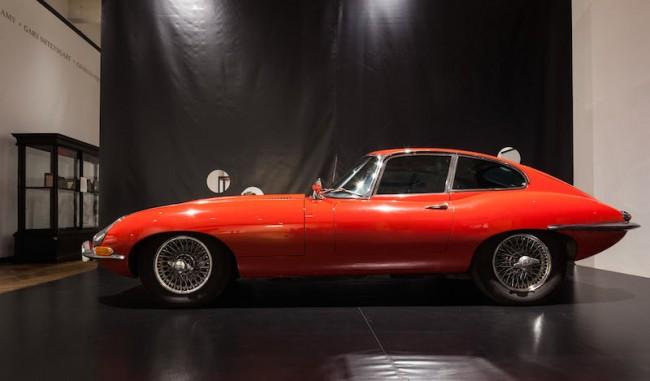 Auswahl Stefan Sagmeister Malcolm Sayers, Jaguar E-Type 4.2 S1 Coupe, US, 1967