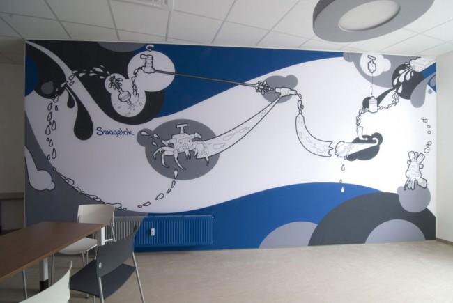 70 qm Walldress für die Best Swagelok GmbH in München