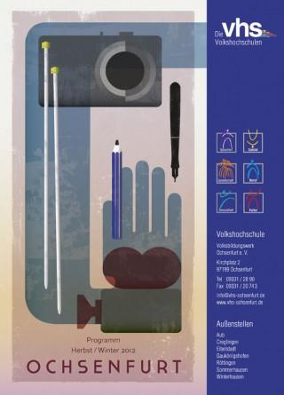 Coverillustration für die VHS