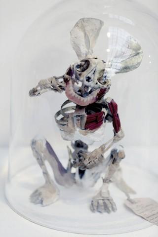 Mickey Mort aus der Skulpturenreihe »Boneytoons«