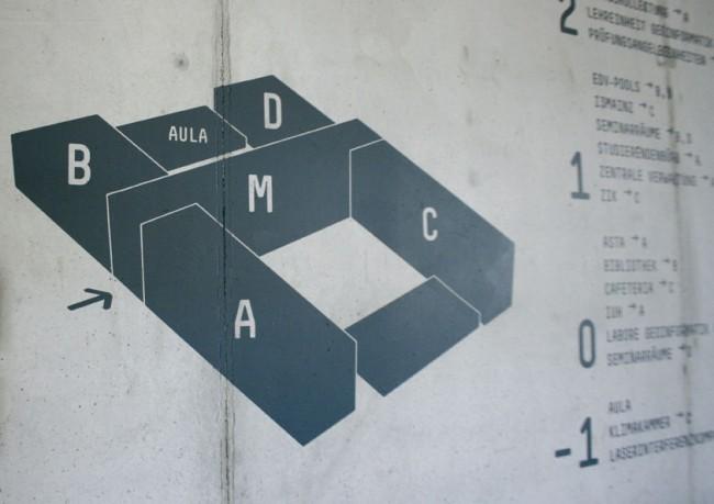 Orientierungssystem für den Unicampus der FH Mainz