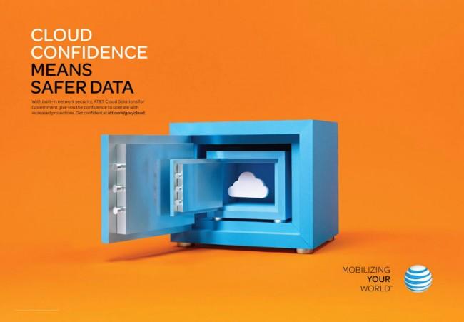 Papierkünstlerin Chrissie MacDonald und Fotograf John Short arbeiteten bei dieser Kampagne für den Cloud-Dienst von AT&T zusammen. www.chrissiemacdonald.co.uk, www.johnshort.com
