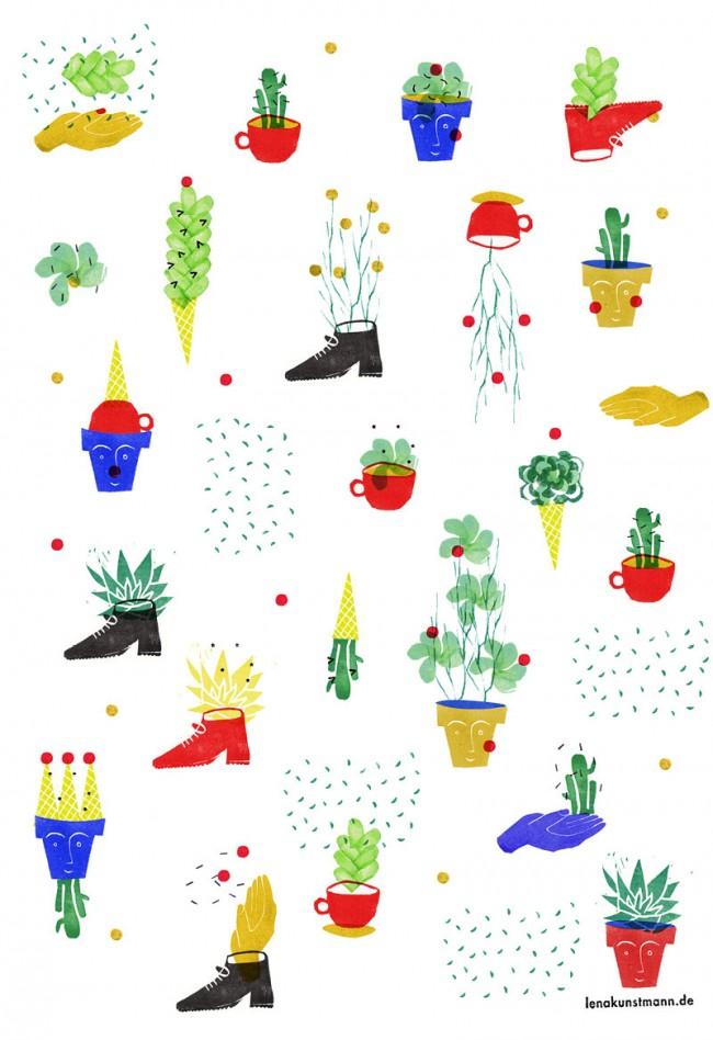 Spaß mit Pflanzen