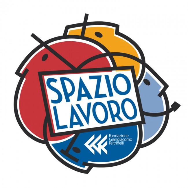 Logo »Spazio Lavoro« für Fondazione Giangiacomo Feltrinelli