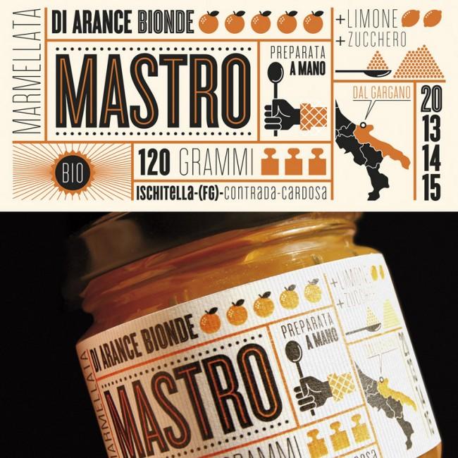 Mastro Packaging, Orangemarmelade
