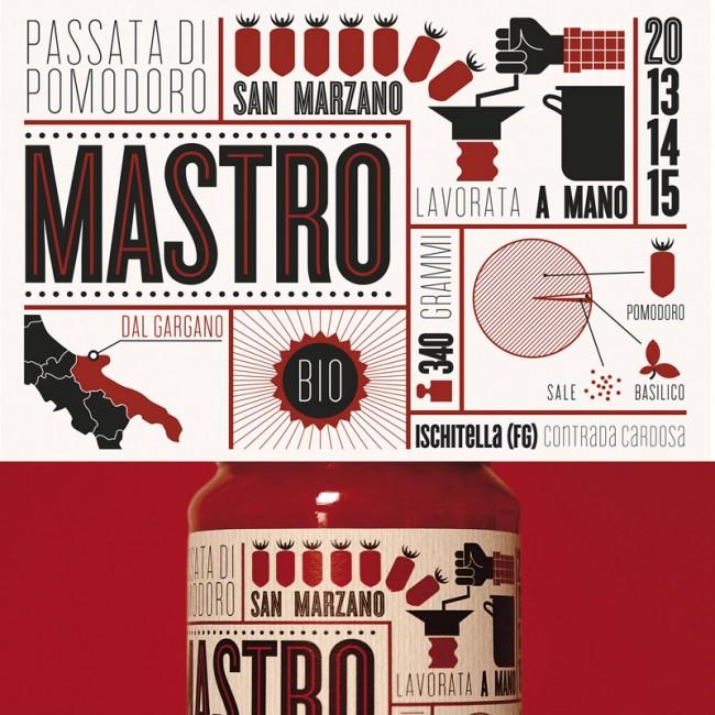 Mastro Packaging, Tomatosauce