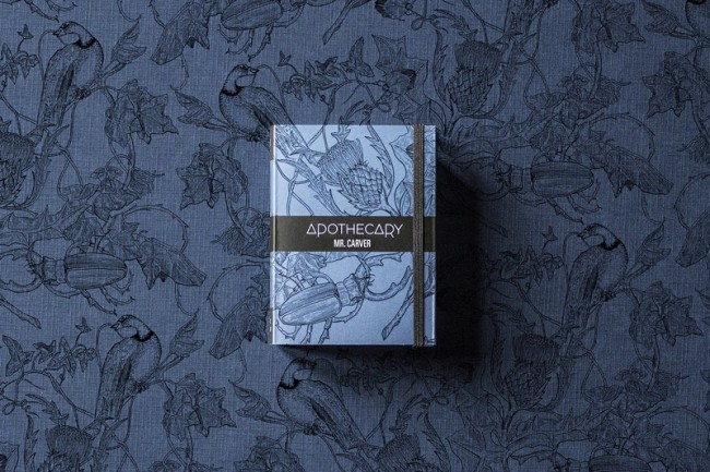 Apothecary Packaging und Logo