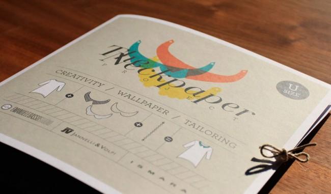 Neckpaper Produktdesign