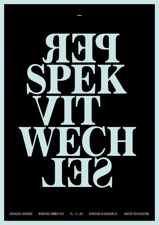 Poster Werkschau SS14