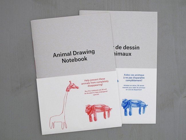 Animal Drawing Notebook