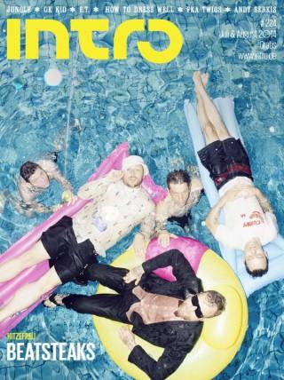 Beatsteaks - Cover für die INTRO Juli/August