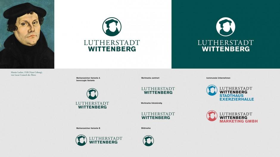 Lutherstadt Wittenberg - Visitenkarten und Marken