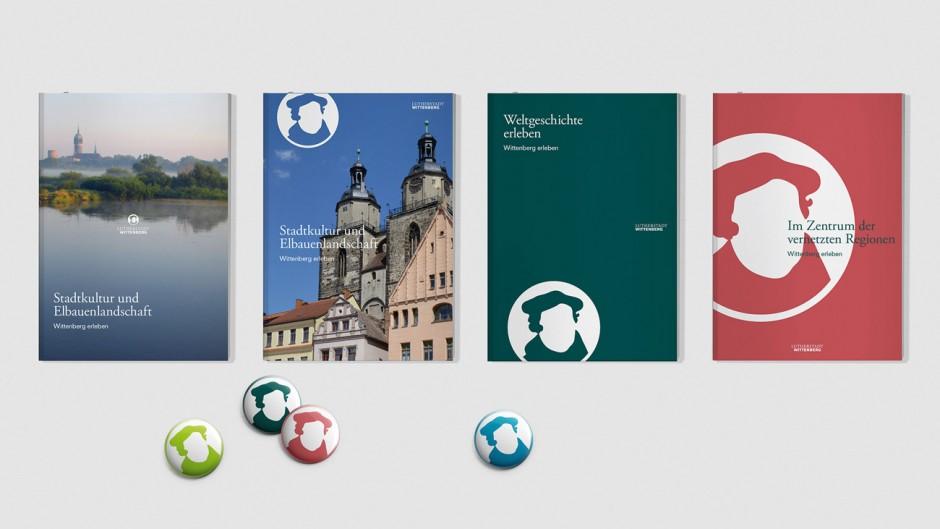 Lutherstadt Wittenberg - Prospekte und Broschüren