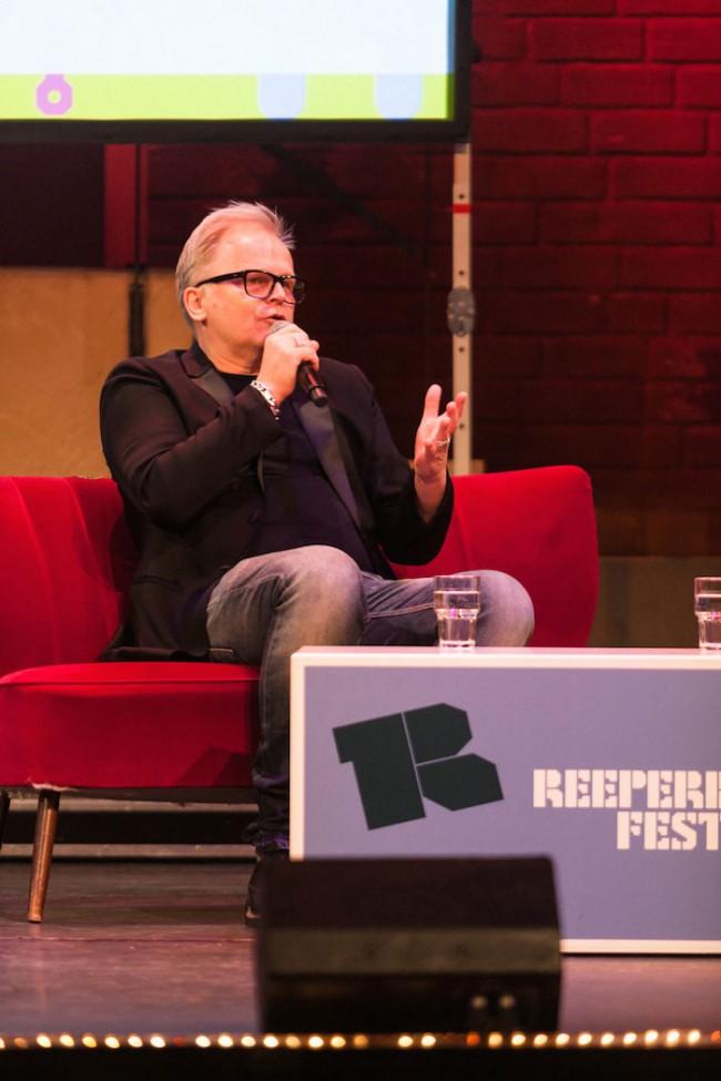 Herbert Grönemeyer auf dem Podium