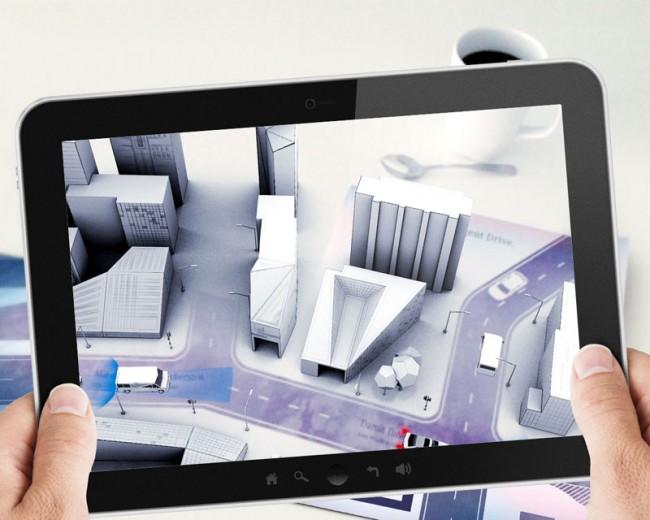 Elephant7 / Pixelpark – Mercedes-Benz AR-Mailing / Kategorie: App