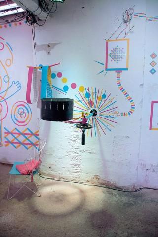 Ringgingbling | Ausstellung in Wien (2013), Moskau (2013) und Prag (2014). Ringgingbling ist eine Illusion von Bewegung. Hervorgerufen durch Komplementärfarben, gemeinsam mit dem Kollektiv Ringgingbling.