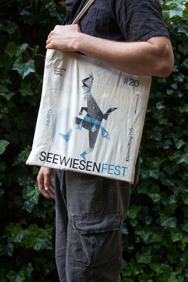 Seewiesenfest | Erscheinungsbild für das Musik Festival Seewiesenfest in Kleinreifling, 2014