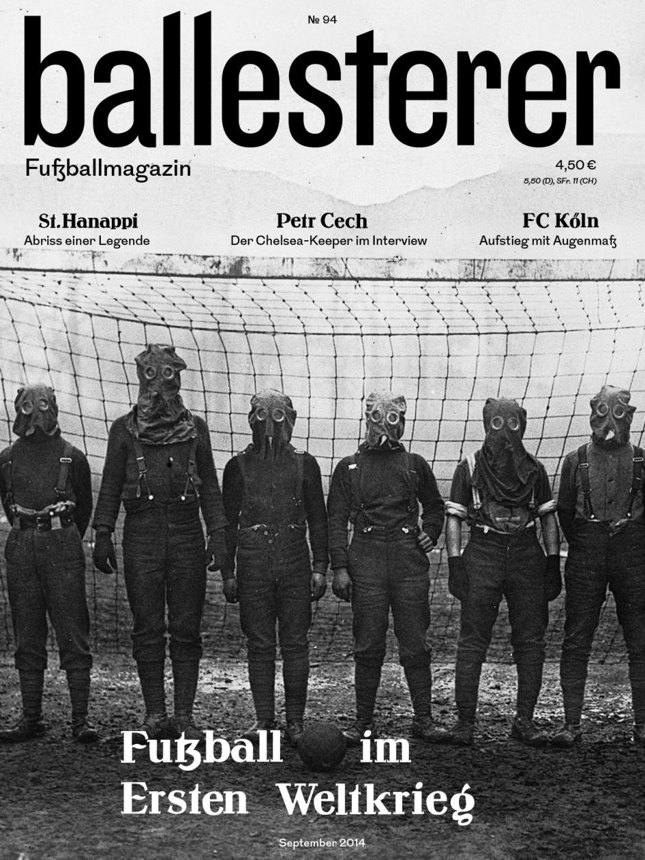 Ballesterer No. 94 | Design für das einzige österreichische Fußballmagazin. Gemeinsam mit Manuel Radde.  2013 – laufend
