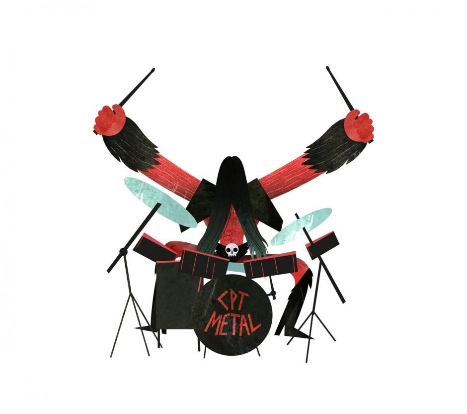 Captain Metal | Musikvideo für die Band »Die Ärzte«, 2012 (http://vimeo.com/41079007)