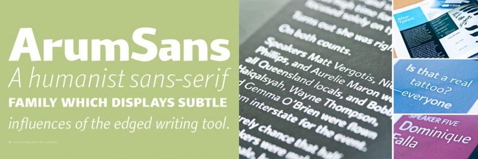 Wayne Thompson gründete 2001 mit der Australian Type Foundry (ATF) eine der ersten digitalen Schriftschmieden des Kontinents. Solide Schriften wie die »Arum Sans«, aber auch liebevoll gestaltete Brandins bilden bis Heute den Kern.